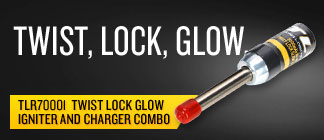 Twist Lock Glow Igniter and Charger Combo