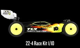 Twenty Two-Four Race Kit: 1/10 2WD Buggy