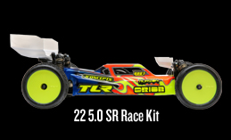 TLR 22 5.0 SR Race Kit: 1/10 2WD Buggy