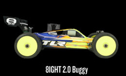 8IGHT 2.0 Nitro Buggy Kit