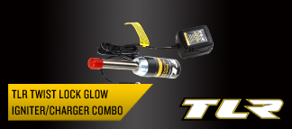 TLR Locking Glow Igniter and Charger Combo