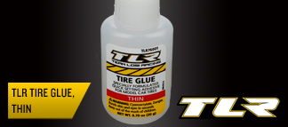 TLR Tire Glue, Thin