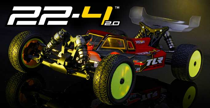 1/10 22 4WD Buggy 2.0 Race Kit