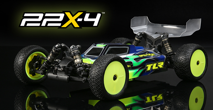 TLR 22X-4 Race Kit: 1/10 2WD Buggy