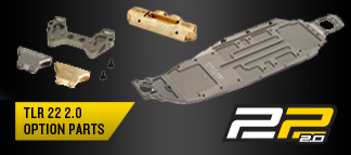 TLR 22 2.0 Option Parts