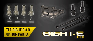 TLR 8IGHT-E 3.0 Option Parts