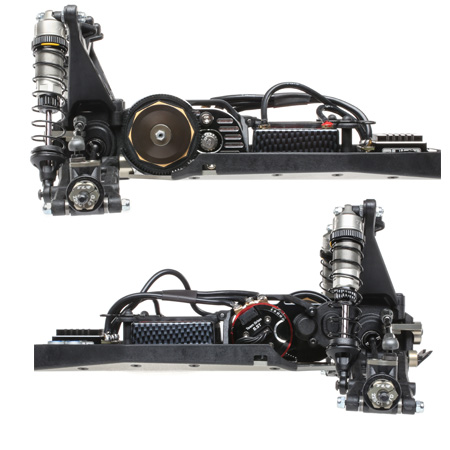 TWO SHOCK MOUNTING OPTIONS
